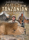 Quest for Tanzanian Big Game